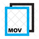 Mov Ile Format Icon