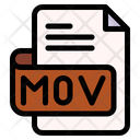 Mov File Type File Format Icon