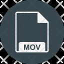 Mov File Extension Icon