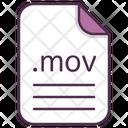 Mov File Document Icon