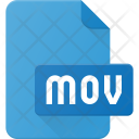 Mov Film Icon
