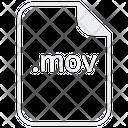 Mov Movie Video Icon