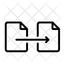 Move Copy Exchange Icon