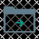 Move Arrow Forward Icon