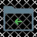 Move Arrow Back Icon