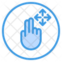 Move Finger Gesture Icon