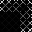 Move Square Position Icon