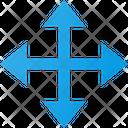 Arrow Directions Move Icon