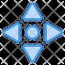 Move Scroll Arrow Icon