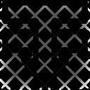 Move Element Down Icon