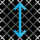 Move Distance Arrow Icon