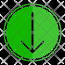 Move Down Icon
