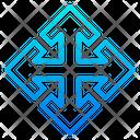 Move Arrow Expand Arrow Expand Icon