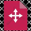 Move File Acrobat Icon