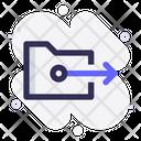 Move Folder Move Share Icon