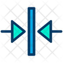 Move Horizontal Center Icon