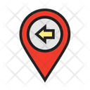 Move Leftside Location Icon