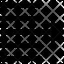 Move Text Right Icon