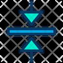 Arrow Direction Verticle Arrow Icon