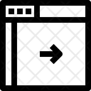 Move Webpage Icon