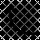 Movement Arrow Up Icon