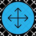 Movement Transform Direction Icon