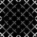 Movement Arrow Resize Icon