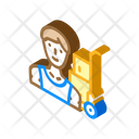 Mover Delivery Worker Icon