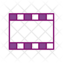 Movie Film Roll Film Reel Icon