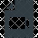 Movie File Clip Icon