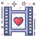 Movie Favorite Movie Video Editing Icon