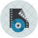 Movie Reel Editing Icon