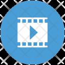 Movie Play Media Icon