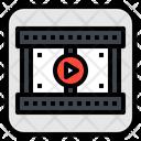 Clip Filmstrip Video Icon
