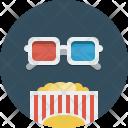 Movie 3 D Film Icon