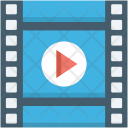Movie Cinema Clip Icon