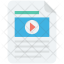 Movie Clip Collection Icon