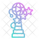 Prize Trophy Recognition Icon