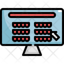 Online Booking Seat Icon