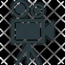 Movie Camera Professional Movie Camera Shooting Icon