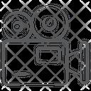 Professional Movie Camera Video Camera Video Recorder Icon