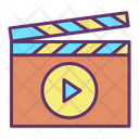 Movie Clap Movie Clapper Clapper Icon