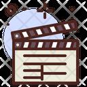 Movie Clapper Clapper Movie Icon