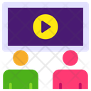 Movie Class Movie Lesson Video Lesson Icon