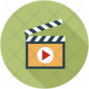 Movie Clip Multimedia Icon