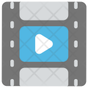 Movie Video Clip Icon
