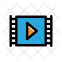 Play Clip Film Icon