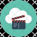Movie cloud Icon