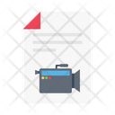 File Recording Movie Icon