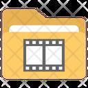 Movie File Movies Multimedia File Icon